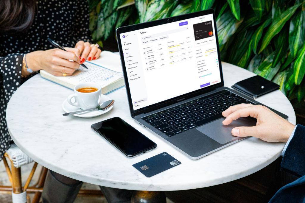 Cuenta bancaria profesional: pagos seguros con tarjetas Qonto