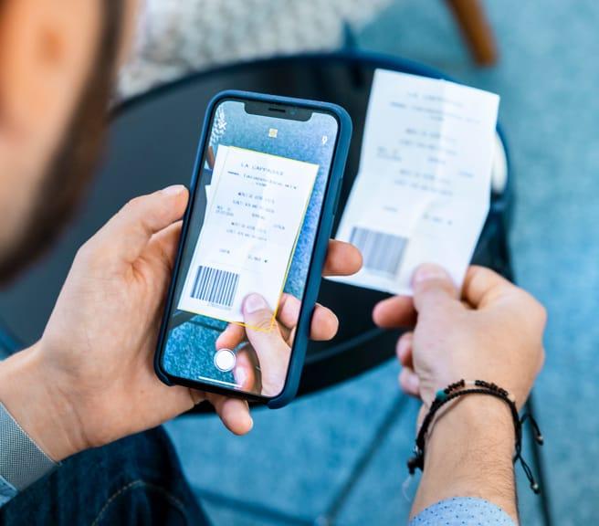 Conto corrente business online per imprese: scontrini e ricevute di pagamento